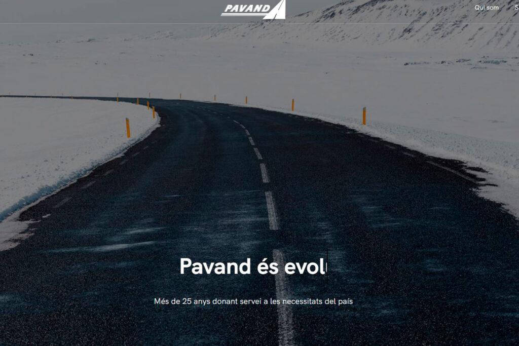 Disseny web i programació de Pavand